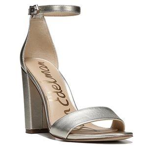 Sam Edelman Yaro Block Heel Sandals Shoes Size 10